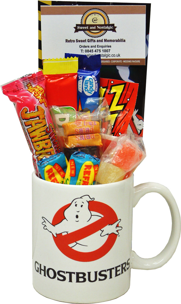 Ghostbusters Mug With Without A Spooky Selection Of 80 S